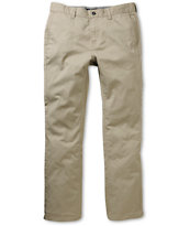 KR3W Klassic Khaki Regular Fit Chino Pants