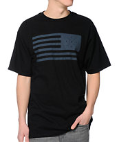 KR3W Liberty Black Tee Shirt