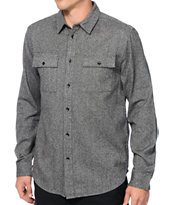 KR3W Line Of Fire Long Sleeve Button Up Shirt