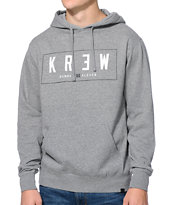 KR3W Lock Box Heather Grey Pullover Hoodie