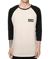 KR3W Locker Box Baseball T-Shirt