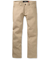 KR3W Rehab K Slim Khaki Skinny Jeans