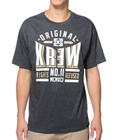 KR3W Ringside Heather Charcoal Tee Shirt
