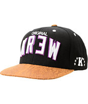 KR3W Team 2 Black & Purple Snapback Hat