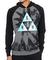 KR3W Triangle Tie Dye Hoodie