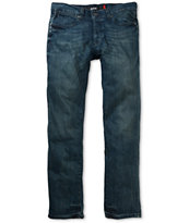 KR3W Worn Blue K Slim Jeans