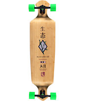 "Kahuna Creations Bamboo 43"" Drop Down Longboard Complete"