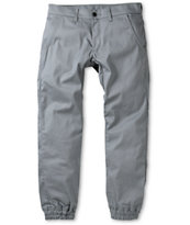 Kennedy Weekender Grey Denim Jogger Pants