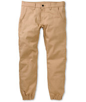 Kennedy Weekender Khaki Slim Fit Jogger Pants