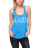 Kill Brand Blazed Blue Tank Top