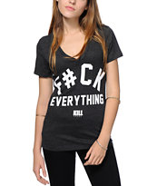 Kill Brand Bleep Everything V-Neck Tee