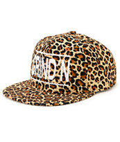 Kill Brand Girls Grind'N Brown Cheetah Snapback Hat