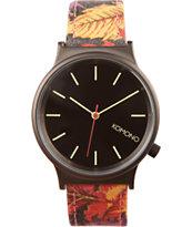 Komono Autumn Leaf Wizard Print Watch