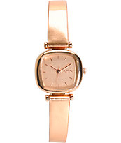 Komono Moneypenny Rose Gold Metallic Analog Watch