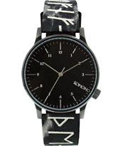 Komono Winston Rune Analog Watch