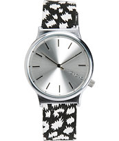 Komono Wizard Night Flakes Analog Watch