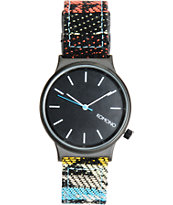 Komono Wizard Print Tribal Analog Watch