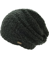 Krochet Kids Lilly Black Beanie