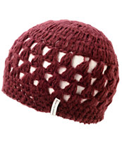 Krochet Kids The Bella Plum Beanie