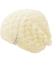 Krochet Kids The Bella White Beanie