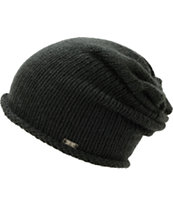 Krochet Kids The Riley Black Slouch Beanie
