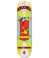 Krooked Cromer Bird Bat 8.06 Skateboard Deck