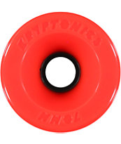 Kryptonics Star Trac 70mm 78a Red Longboard Wheels