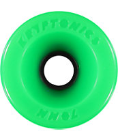Kryptonics Star Trac 70mm 86a Green Longboard Wheels