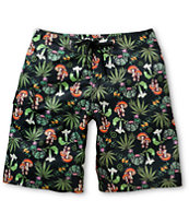 LRG Alohigh Black 21.5 Board Shorts
