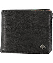 LRG Botanist Black Bifold Wallet