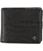 LRG Botanist Black Bifold Wallet
