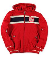 LRG Boys 47 Grams Red Zip Up Hoodie