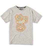 LRG Boys Big Rock Unsteady Grey T-Shirt