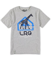 LRG Boys CC Four Grey Tee Shirt