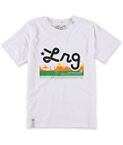 LRG Boys CC Ten White Tee Shirt