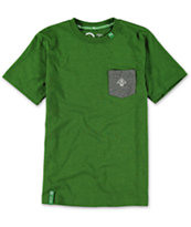 LRG Boys Core Green Pocket Tee Shirt