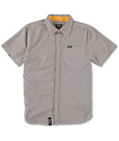LRG Boys Gingham Check Button Up Shirt