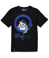 LRG Boys Homeboy Panda Black Tee Shirt