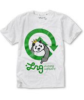 LRG Boys Homeboy Panda White T-Shirt