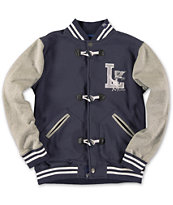 LRG Boys Letterman Navy Varsity Jacket