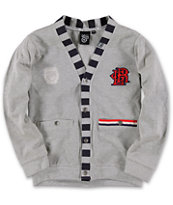 LRG Boys Regalia Grey Cardigan Sweater