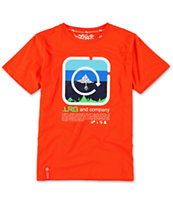 LRG Boys Shineblockers Red Tee Shirt