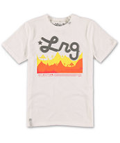 LRG Boys Treeline White T-Shirt