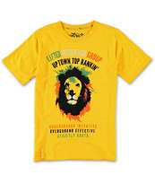 LRG Boys Uptown Diamond King Gold Tee Shirt