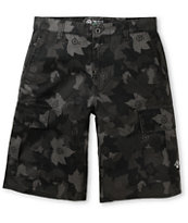 LRG CC Black Ripstop Black Cargo Shorts