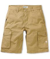 LRG CC Dark Khaki Cargo Shorts