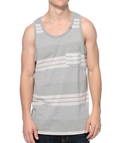 LRG CC Striped Grey Pocket Tank Top