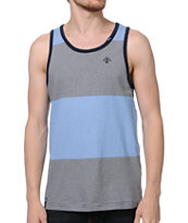 LRG CC Striped Navy Tank Top