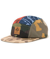 LRG Camo Collective 5 Panel Hat