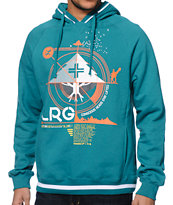 LRG Conscious Heads Teal Pullover Hoodie